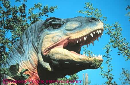 Dinosaur Tyrannosaurus Rex Replica Sea World Cleveland