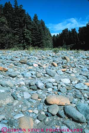 Stock Photo #7145: keywords -  california cobble conglomerate deposit earth environment form geologic geological geology nature physical river riverbed rock science sediment smith stone stones stream vert