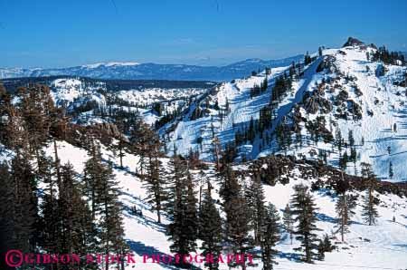 Stock Photo #7182: keywords -  alpine batholith california environment geologic geological geology granite horz lake landscape mountain nature outdoor peak peaks relief rock rugged scenery scenic ski slope slopes snow squaw tahoe terrain uplift valley wild wilderness winter