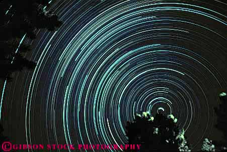 Stock Photo #7448: keywords -  abstract abstraction abstracts celestial centered dark earth earths evening exposure horz long morning motion move movement moving night north orbit rotate rotates rotating rotation solar space star stars streak streaks time tracks