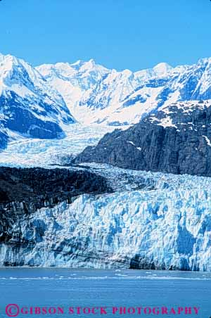 Stock Photo #7468: keywords -  alaska climate cold environment freeze freezing frozen glacial glacier glaciers habitat ice icy landscape margerie mountain national nature park scenery scenic snow vert weather winter