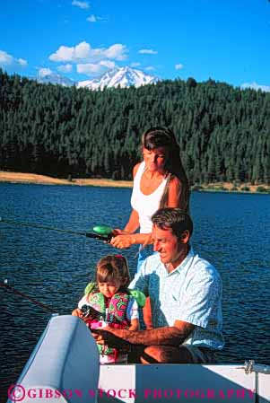 Stock Photo #5539: keywords -  assist california catch child daughter family fish fisherman fishermen fishing girl help houseboat husband lake man mount mountain mt outdoor outdoors outside recreation released share shasta sport summer teach team three together vacation vert water wife woman