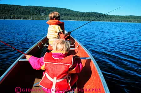 Stock Photo #5547: keywords -  boat boy brother canoe catch child children fish fisherman fishermen fishing float girl horz jacket lake life outdoor outdoors outside recreation released safety sibling sister sport summer vacation vest water youth youths