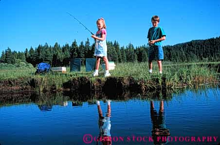 Stock Photo #5552: keywords -  boy brother brothers catch child children fish fisherman fishermen fishes fishing friend friends fun girl girls goys horz outdoor outdoors outside play recreation reflection released share sibling siblings sister sisters sport stream summer team together two water youth youths