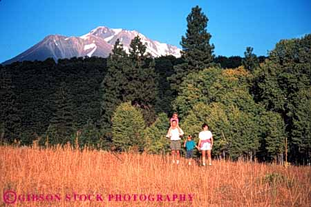 Stock Photo #5589: keywords -  adventure brother california daughter exercise explore family father fit fitness hiking horz husband meadow mother mount move mt mt. outdoor outdoors outside physical physically released shasta sibling sister son vacation walk walker walking wife workout youth youths