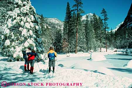 Stock Photo #5734: keywords -  adventure california cold country cross crosscountry equipment exercise explore horz man national nordic outdoor outdoors outside park recreation resort season ski skier skiers skiing snow sport sports travel trip two vacation winter woman yosemite
