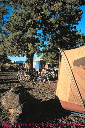 Stock Photo #5888: keywords -  adventure beds bicycle bicycles bike california camp camper camping explore lava monument national outdoor outdoors outside recreation sport tent travel trip vacation vert