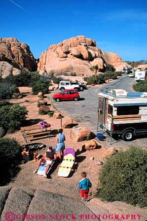 Stock Photo #5889: keywords -  adventure california camp camper camping desert explore family josuha national outdoor outdoors outside park recreation recreational relax relaxation relaxing rock rocks rv sport tent travel tree trip vacation vehicle vert