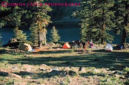 Stock Photo #5899: keywords -  adventure california camp camper camping explore horz mount outdoor outdoors outside recreation shasta sport summer tent travel trip vacation