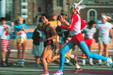 Stock Photo #6201: keywords -  action bay bizarre blur blurred breakers ca california compete competing competition competitor contest costume costumed cute different foot francisco funny horz motion move movement moving people race racers racing run runners running runs san unusual
