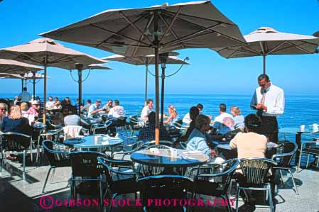 Georges Restaurant Terrace La Jolla San Diego California