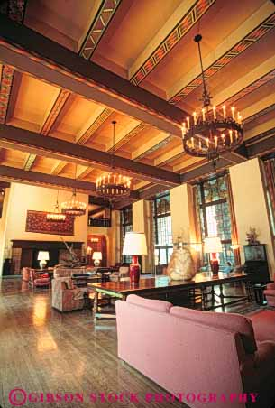 Lobby interior ahwahnee hotel yosemite national park for Design hotel yosemite