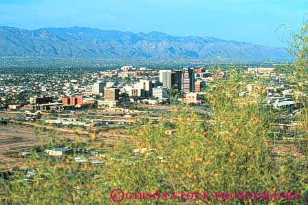 Stock Photo #7489: keywords -  america american architecture arizona building buildings business center cities city cityscape cityscapes downtown horz modern new office skyline skylines southwest tucson urban usa west
