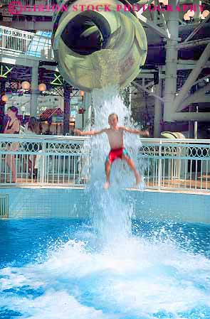 Boys drops out of water slide world waterpark west - Swimming pools with slides north west ...