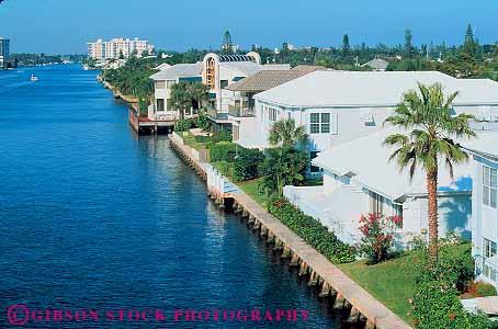 homes on canal in ocean ridge near palm beach florida