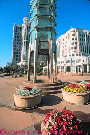 Tower Of Light Sculpture At City Hall Orlando Florida