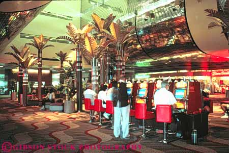 Airport Interior Las Vegas Nevada Stock Photo 8208