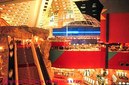 Elevated view interior luxor casino las vegas nevada stock photo 8265 for Interior decorator las vegas nv