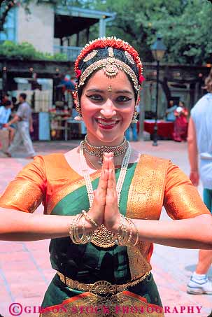 Indian Woman Dressed In Traditional Clothing Indian