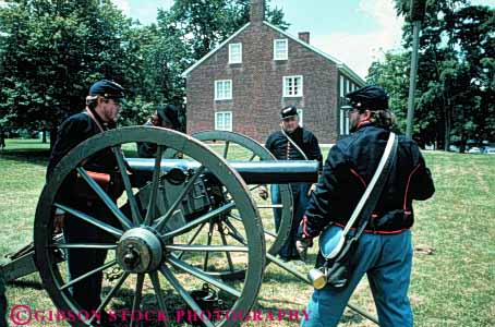Stock Photo #3383: keywords -  canon civil costume hill historic history horz kentucky living pleasant reenactment shaker soldier village war