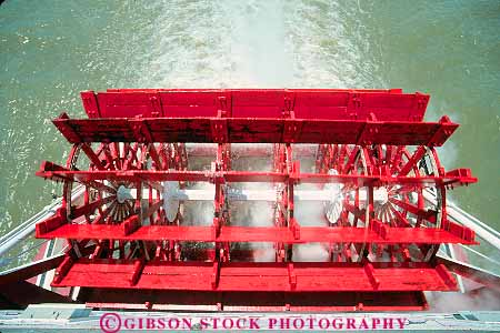 paddle wheel working belle of louisville riverboat ohio river