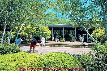 People Garden Center At Wade Park Cleveland Ohio Stock Photo 11991