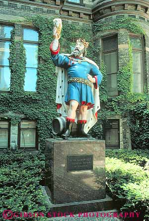 Statue of the good King Gambrinus Milwaukee, WI