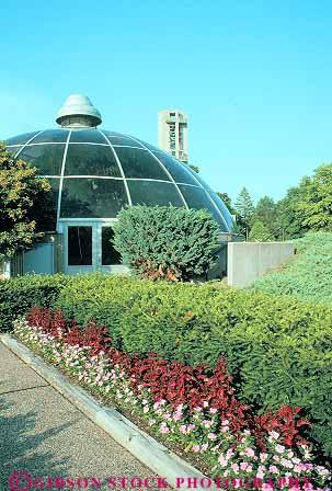 Conservatory In Washington Park Botanical Garden Springfield Illinois Stock Photo 12024