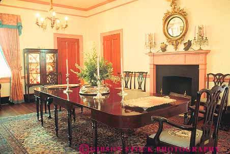 Historic Cannonball House Interior Macon Georgia Stock Photo 14611