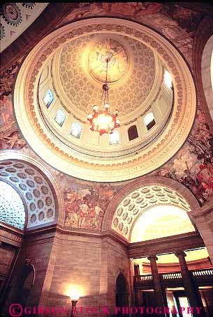 Rotunda State Capitol Building Jefferson Missouri Stock