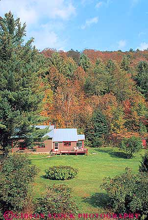 Autumn country home killington vermont stock photo 15167 for Vermont country homes
