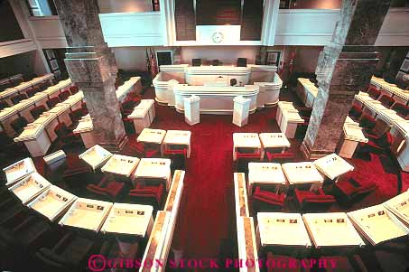 Interior Assembly Hall State Capitol Building Montgomery Alabama Stock Photo 15181