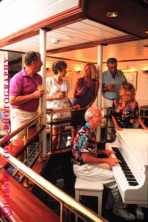Stock Photo #1402: keywords -  adventure bar boat cocktail cruise drink fun model music ocean piano play recreation relax released s sail sea sing social song sound summer travel trip tropical vacation vert warm
