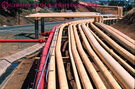Stock Photo #1436: keywords -  crude energy environment equipment fuel gas horz industry machinery oil petroleum pipe pollution pressure process refine refinery storage system tanks technology transportation