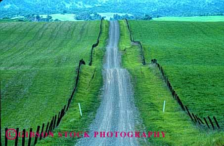 Stock Photo #1502: keywords -  california dirt hill horz remote road rough route rural scenic solitary wild