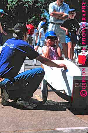 Stock Photo #1540: keywords -  americana box build car child children competition contest course craft derby downhill glide gravity helmet oregon parent pavement practice race roll salem soap speed tradition vert wheel