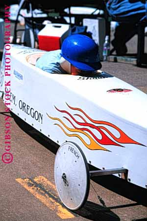 Stock Photo #1543: keywords -  americana box build car child children competition contest course craft derby downhill glide gravity helmet oregon parent pavement practice race roll salem soap speed tradition vert wheel