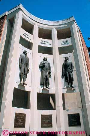 Three presidents sculptures city hall charlottesville for A new salon charlottesville va