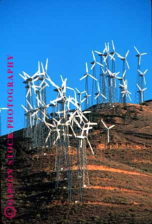 Stock Photo #1650: keywords -  alternative array arrays blade blades california electric electrical electricity energy equipment experiment generating generation generators grid group grouping groups high industry m power propellar propellars propeller research rotate rotates rotating rotation solar tall technology tehachapi turbine turbines vert wind windfarm windfarms