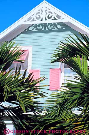Victorian Architecture Home Key West Florida Stock Photo 16368