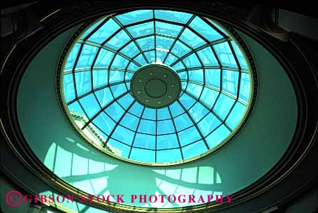 Stock Photo #1709: keywords -  architecture capitol circle dome engineer glass horz pattern pennsylvania radial rotunda round skylight state symmetry window