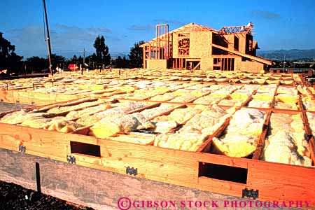 Stock Photo #3412: keywords -  build buy california construction estate floor framing gilroy home horz house industry insulation joist new purchase real wood