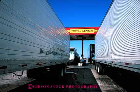 Stock Photo #1834: keywords -  arizona center commerce horz industry service shipping stop transportation travel truck trucking trucks