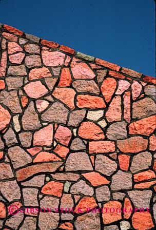 Stock Photo #1876: keywords -  abstract geometric geometry irregular masonry network pattern pink shapes stone texture vert wall