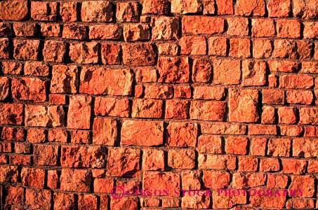 Stock Photo #1879: keywords -  abstract block geometric geometry grid horz irregular masonry network pattern pink shapes square stone texture wall