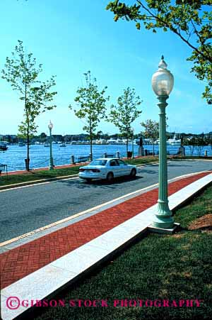 Stock Photo #2165: keywords -  annapolis auto car coast drive highway maryland moving ocean road scenic shore street transportation urban vehicle vert water