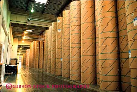 Stock Photo #2228: keywords -  angeles communication cylinder factory horz industry inventory los manufacturing news newsprint print publish roll round stacks storage tall times