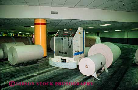 Stock Photo #2229: keywords -  angeles equipment factory horz indu los machine manufacturing paper print publish robot times transport