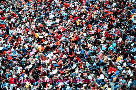 Stock Photo #2416: keywords -  attendance audience baseball bleacher bleachers california countless crowd crowded event events francisco full game horz large lots many multitude number numerous people professional row rows san seating seats spectator sport stadium stadiums