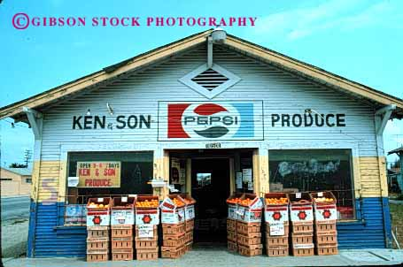 Stock Photo #2449: keywords -  agriculture colorful commerce country crop display farmers food fruit horz market merchandise produce product retail sell stand store vegetable